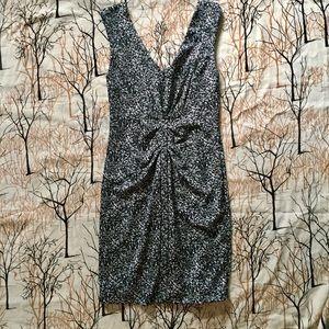 NWT Black & White Express Patterned Dress Size 6